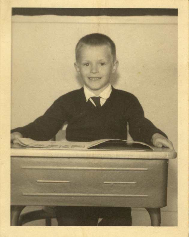 Gregory Hartnell, circa 1958, Saint Anne's Academy, Victoria