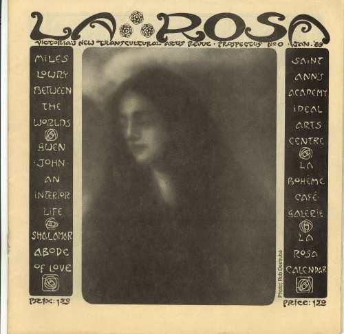 LA ROSA REVUE PROSPECTUS No. 0 WITH MILES LOWRY PAINTING