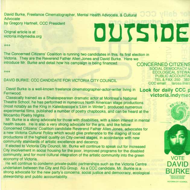 DETAILS OF 2002 CCC POSTER USED FOR DAVID BURKE (folded)